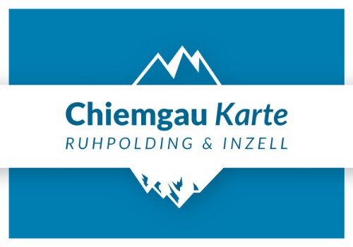Inzell Karte.Chiemgau Karte